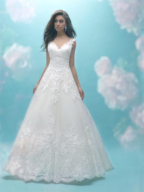 ALLURE BRIDALS #9470