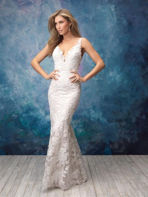 ALLURE BRIDALS #9556